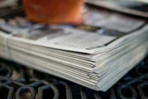 Pino sanomalehtiä